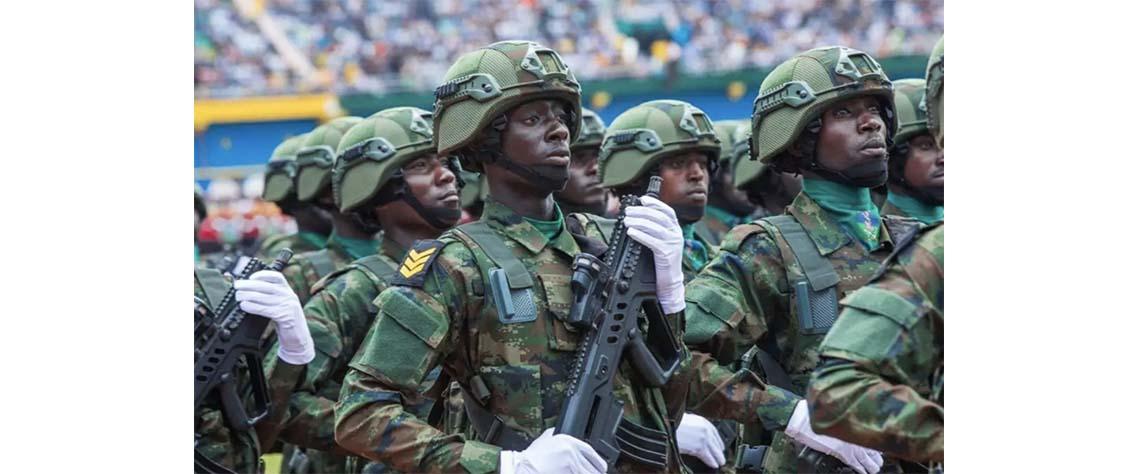 Exército do Ruanda faz reconhecimento em Cabo Delgado